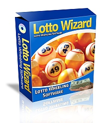 Screenshot #1 of Lotto Wizard / Windows